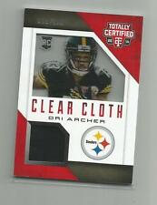 2014 Totally Certified   DRI ARCHER  Rookie Clear Cloth 099/100