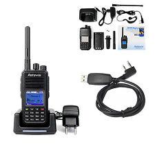 DMR RETEVIS RT3 Walkie Talkie UHF 5W 1000CH 2-way radio +cavo di programmazione