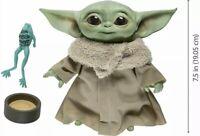 "Star Wars Mandalorian The Child ""Baby Yoda"" Talking Plush Toy - Mandalorian Toy"