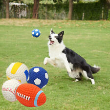 Pet Dogs Chew Ball Waterproof Squeak Sounds Toys Bite Resistant Teeth Balls