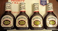 (4) Sweet Baby Ray's Honey Barbecue Sauce 18 oz Bottle