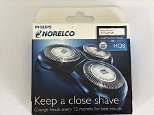 Philips Norelco Shaving Heads DualPrecision,  HQ8 - 3 Cutters & 3 Combs (1 set)