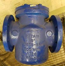 """Titan 6"""" Strainer, 200 Wog, Bs55-65, A126, Rs-1"""