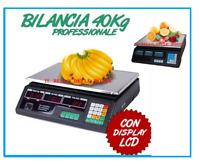Bilancia Digitale Elettronica Da Banco Professionale 40 Kg Frutta Alimenti