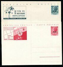 TRIEST A 1949 ca GANZSACHEN SAMMLUNG(71392c