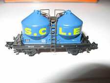 Epoche IV (1965-1990) Modellbahnen der Spur N als Werbemodell-Güterwagen