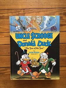 """Don Rosa Uncle Scrooge & Donald Duck """"the Son Of The Sun"""" Vol. 1 HC Fanta"""