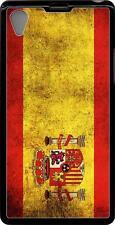Carcasa dura case Sony Xperia Z1 bandera espana