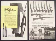 M-14 Army Rifle 1959 Aberdeen Proving Grounds vintage pictorial