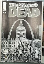 WALKING DEAD #1 St Louis 2015 Wizard World Exclusive Variant Gerhard SKETCH B&W