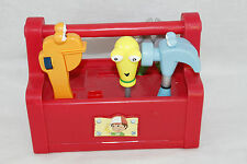 Handy Manny Singing Dancing Talking Toolbox 4 Tools Hammer Wrench + Box 2007