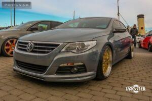 Front Bumper Valance Chin R Line Spoiler Lip For VW Passat CC