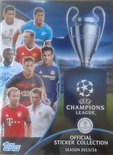 ALBUM TOPPS UEFA CHAMPIONS LEAGUE 2015/16 NEW FREE ENVELOPE stickers Match Attac