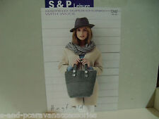 Hayfield Super Chunky with Wool Bag Pattern - 7242 One Size