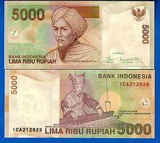 Indonesia P-142e 5000 Rupiah Year 2005 Uncirculated FREE SHIPPING
