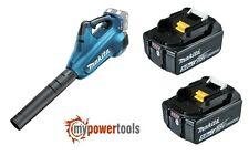 Makita XBU02Z 36V (18Vx2) LXT Li-Ion Brushless Turbo Blower + (2) BL1850B 5.0Ah