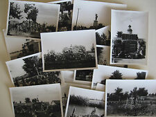 CIRCA 1951 Lot of 18 PHOTOS - PETERSEN S ROCK GARDENS, BEND OR