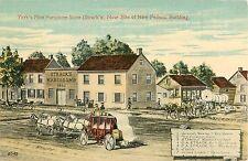 c1910 Strack's Furniture Store, York, Pennsylvania Postcard