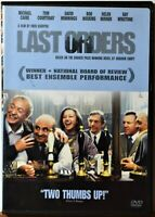 DVD Last Orders Michael Caine Bob Hoskins Helen Mirren -- Extra DVD's Ship Free