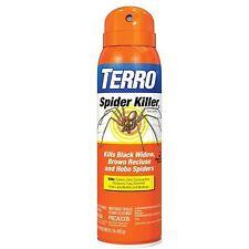 TERRO SPIDER KILLER AEROSOL SPRAY Kills Ants Cockroaches Scorpions Ticks Bedbugs