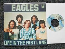 Eagles - Life in the fast lane/ The last resort 7'' Single SPAIN