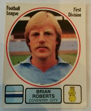 Panini football 82 #66 Brian Roberts - Coventry City