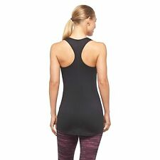 Women's Performance Fitted Tank Top - Ebony - Size: Large
