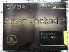 EVGA GEFORCE GTX 1070 8 Go GDDR 5 Superlocked 2