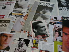 HENRY ROLLINS - CUTTINGS/CLIPPINGS COLLECTION (REF E8)