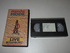 VHS/DEPECHE MODE/LIVE IN HAMBURG/VVD 063