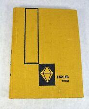 1969 WISCONSIN STATE UNIVERSITY IRIS YEARBOOK