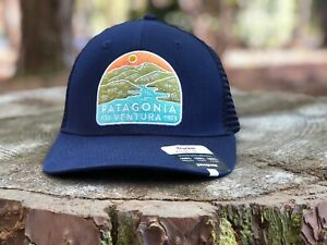 Patagonia Trucker Hat - New Navy -  Mid Crown - Rare Spring 2020 Limited Edition