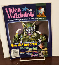 VIDEO WATCHDOG ISSUE #105 ADRIAN MESSENGER-AIP IMPORTS-CRAZIES NM/MINT