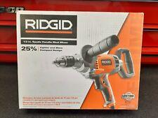 "RIDGID 1/2"" Spade Handle Mud Mixer, Model R7122 Open Box"