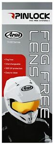 Pinlock®-Scheibe für Arai Motorradhelm -Antifog Antibeschlag Zubehör Ersatzteil