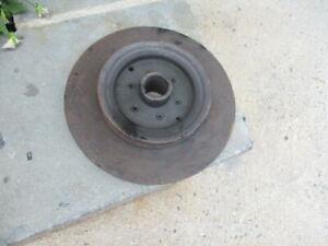 1929 Marmon 68 Engine Crank Shaft Pulley Used