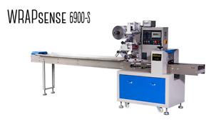 Used WrapSense Horizontal Flow Wrapper- Packaging Machine Model WS-6900S