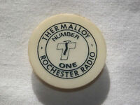 VINTAGE OLD THERMALLOY NUMBER ONE ROCHESTER RADIO NY ADVERTISE MAGNET