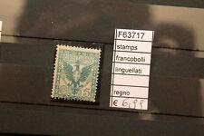 FRANCOBOLLI STAMPS ITALIA REGNO LINGUELLATI (F63717)