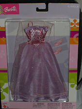 2003 GLAMOUR BEAUTIFUL LAVENDER  BARBIE GOWN FASHION !!