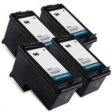 4pk Hp 96 C8767WN Black ink print cartridges