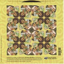 Jimi Hendrix Stamp Sheet - Usa #4880 Forever 2014