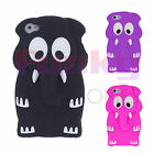 Quality Funky Humorous Soft Animal 3D Silicone Skin Cover Case Cartoon Cute