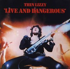 THIN LIZZY: LIVE AND & DANGEROUS REMASTERED CD PHIL LYNOTT / NEW