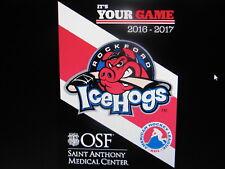 Chicago Blackhawks Rockford Icehogs Hockey Game Giveaway Fleece Blanket 2016-17