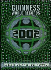 Livre Guinness World records  2002 book