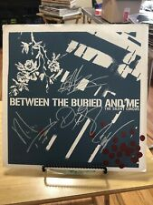 Between The Buried And Me Silent Circus Sea Foam Green  Limited Edition Record