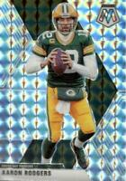 Aaron Rodgers 2020 Panini Mosaic Silver Mosaic Prizm #79 Green Bay Packers