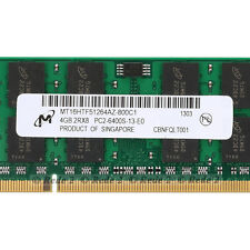 100%New 4GB DDR2 800Mhz PC2-6400 200Pin CL6 So-Dimm Laptop RAM Memory for Micron