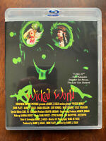 Wicked World Blu-Ray 1991 Cult Film Horror senza Blocchi Regionali Agfa US